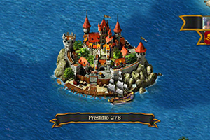 Pirates: Tides of Fortune Game Map